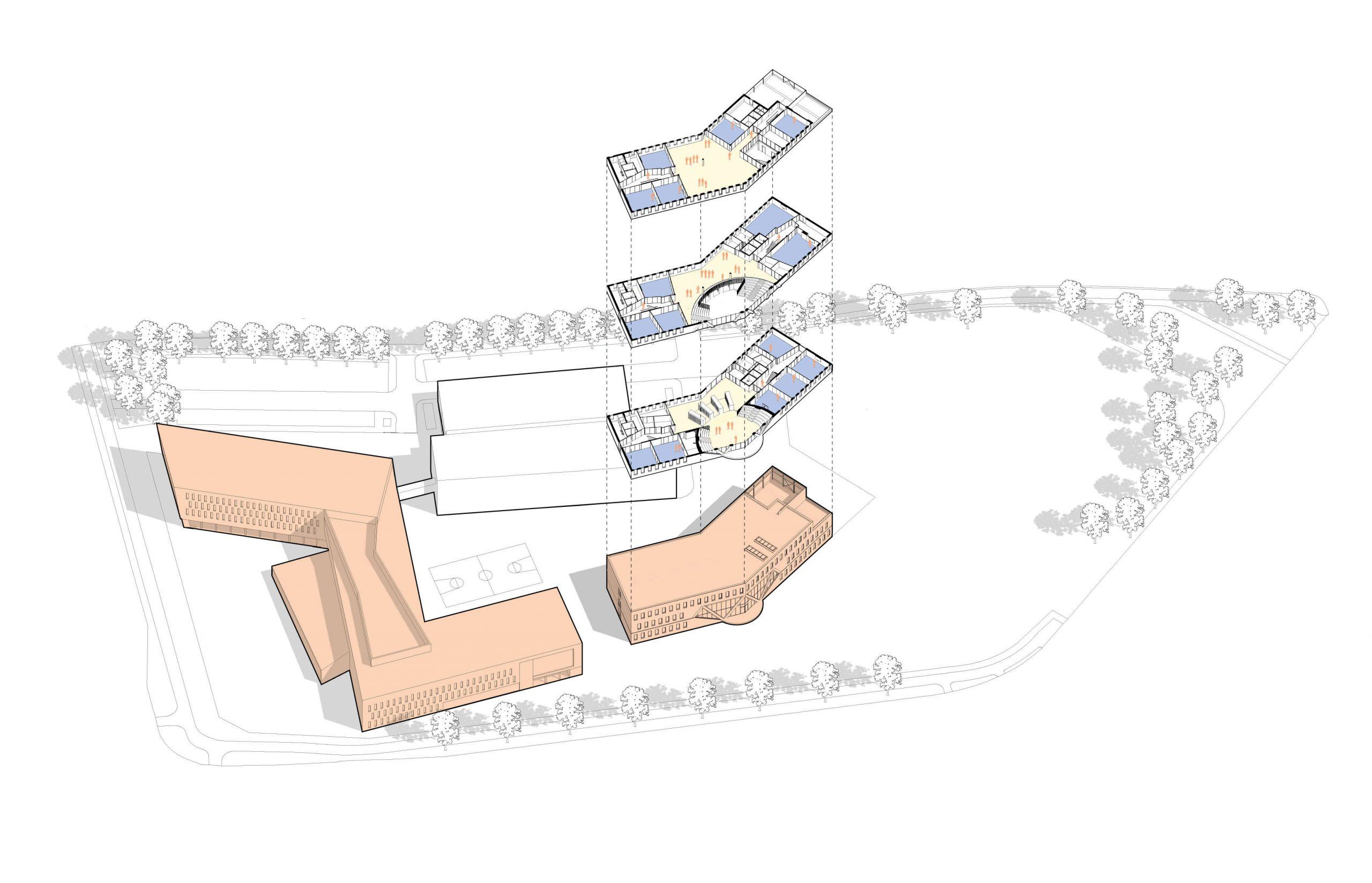 gasloos voortgezet openbaar middelbaar onderwijs zonnepanelen warmtepomp prefab roosendaal jtc sovor sporthal in de roos venhoeven cs heerkens van bavel