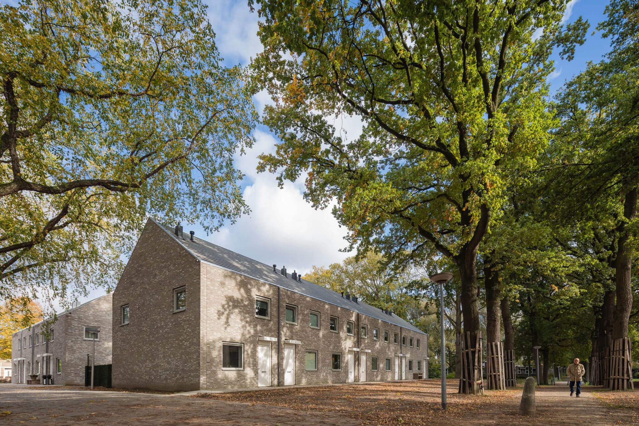 woningbouw nieuwbouw sociale woningbouw Eindhoven Eckart rijwoningen metselwerk design&build bestemmingsplan gezinswoning Kasteel Eckart