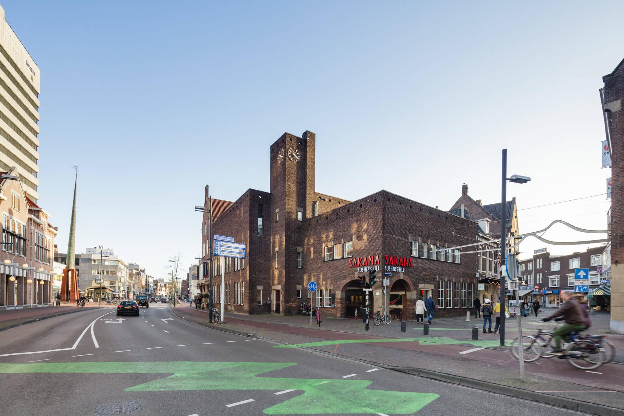 Eindhoven monument Cees de Bever transformatie herbestemming aluminium gevel stalen kozijnen