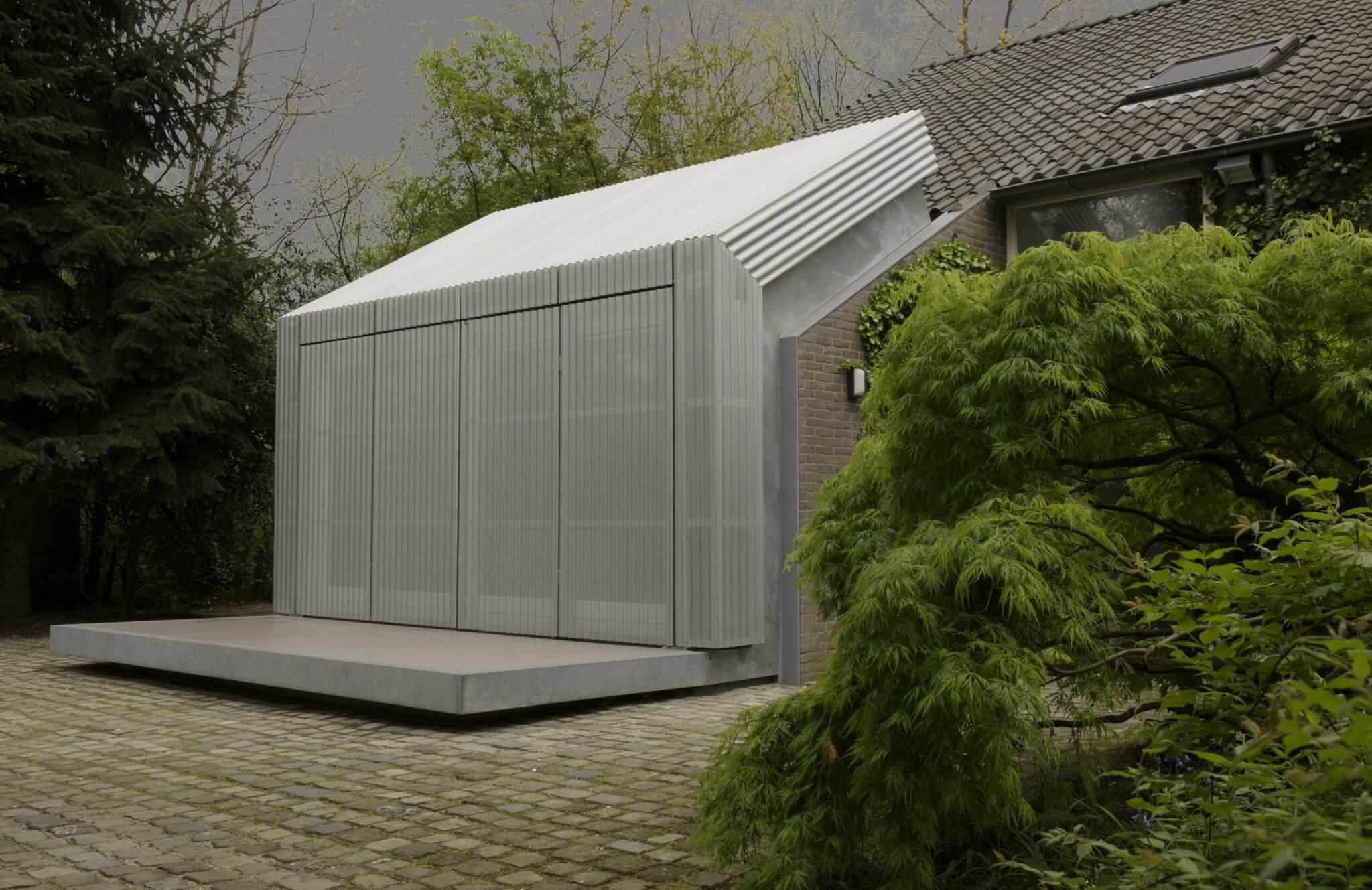 Eindhoven monument milla Philipsdirecteur transformatie herbestemming aluminium gevel perfo gevel